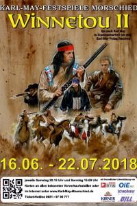 """DVD Saison 2018 """"Winnetou II"""""""