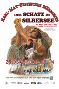"""DVD Saison 2014 """"Der Schatz im Silbersee"""""""
