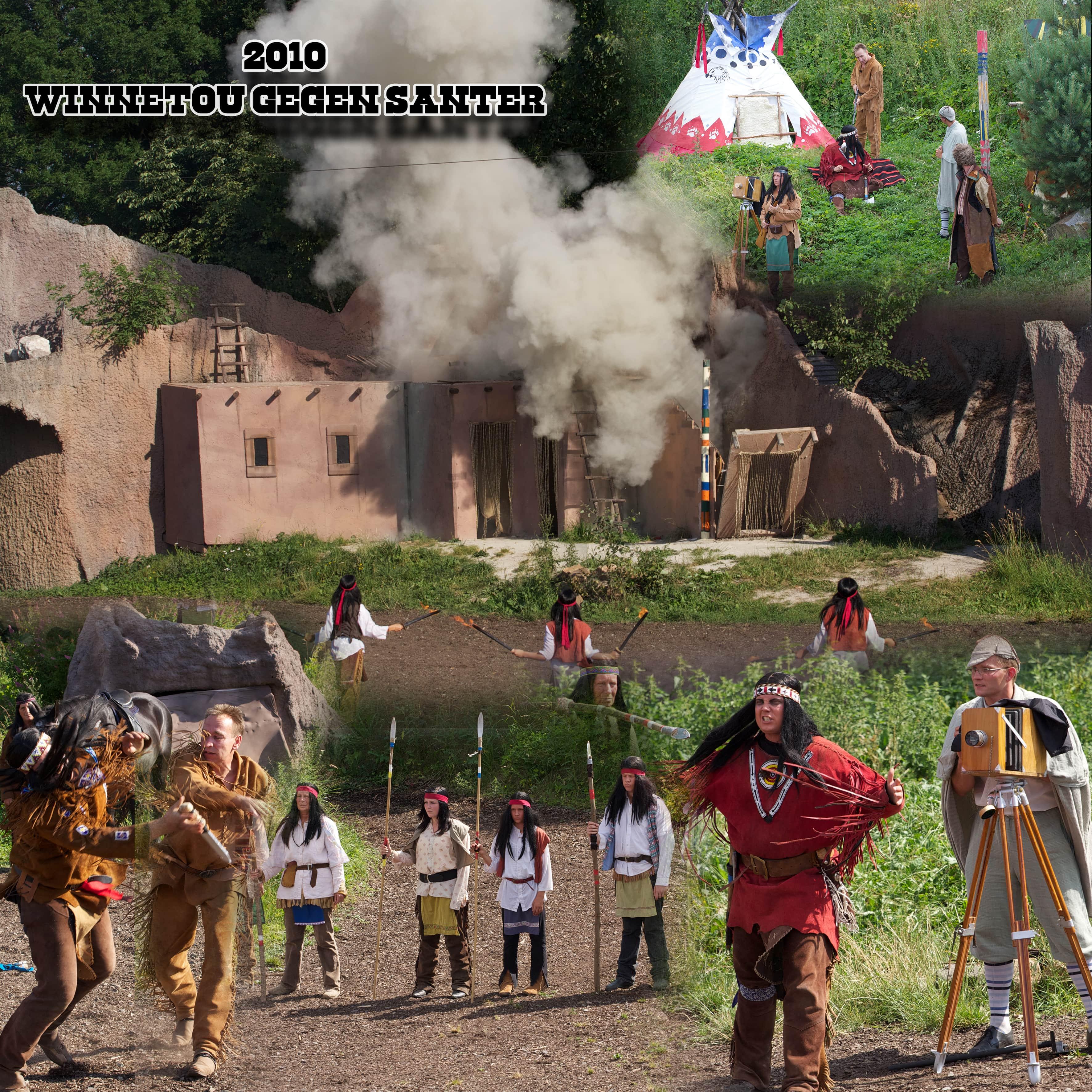 2010 - Winnetou gegen Santer