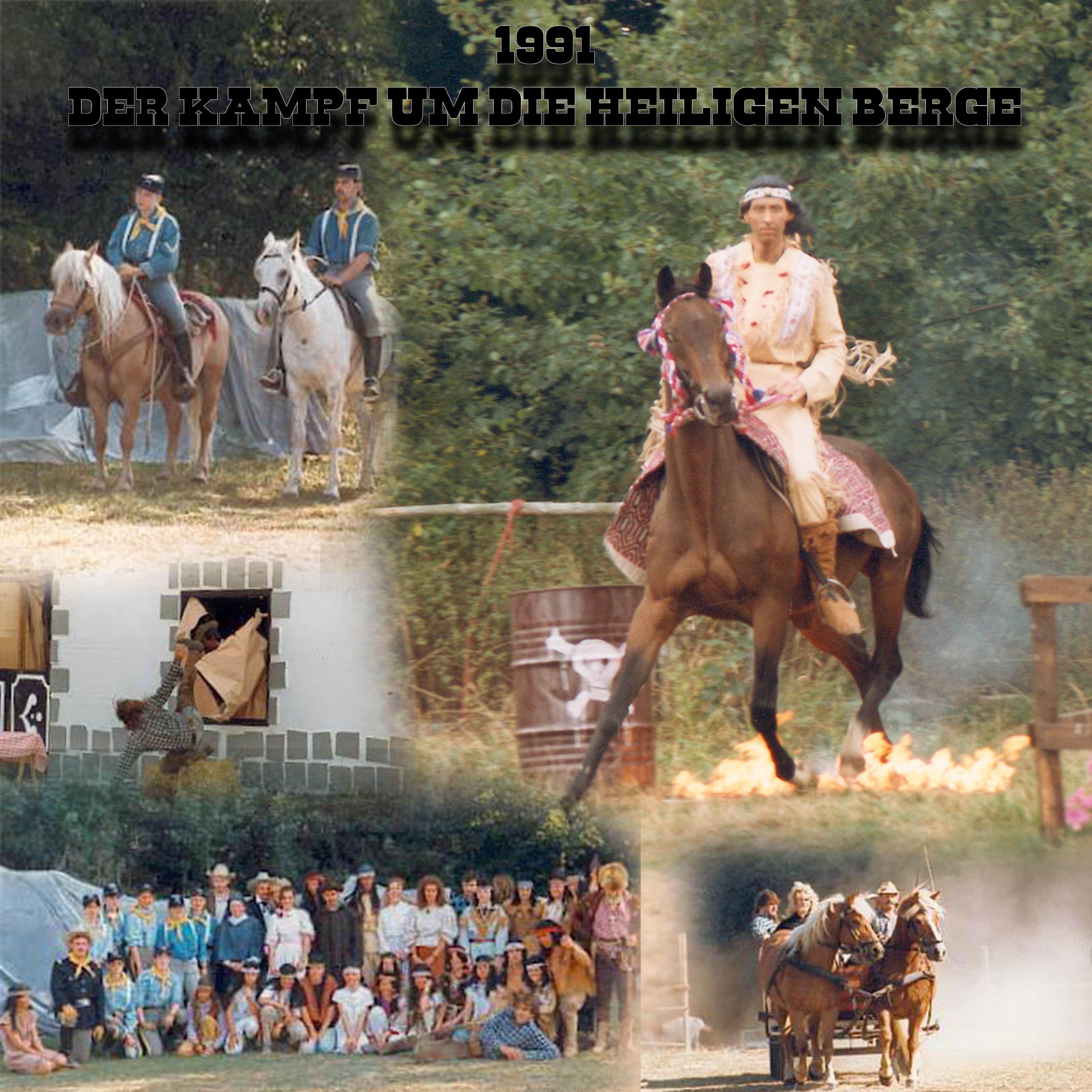 1991 - der Kampf um die heiligen Berge