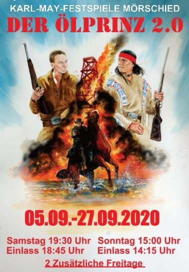 Ölprinz 2.0 - Im September 2020 auf der Freilichtbühne Mörschied