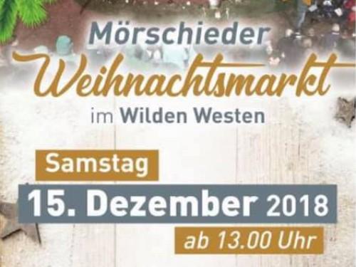 15.12.2018: Weihnachtsmarkt mit offenem Adventssingen